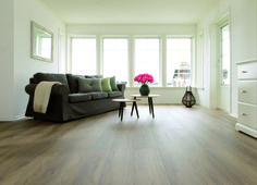 Grand Avenue collection by BerryAlloc, Ku'Damm laminate flooring. Extra-long and extra-large boards for a very resistant floor.