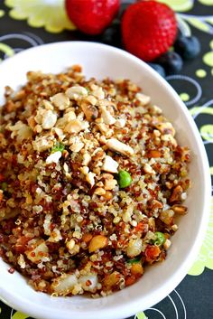 Sreelus Tasty Travels: Quinoa Upma