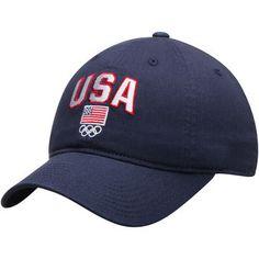 Team USA Navy Rio Olympics Slouch Adjustable Hat #usa #olympics #teamusa