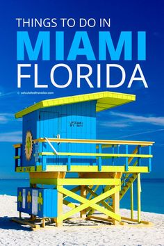 Don't be stuck wondering what to do the next time you visit Miami Florida. With this list of 11 things to do you'll enjoy experiencing the shops museums nature gardens food culture and of course the beach. Usa Travel Guide, Travel Advice, Travel Usa, Travel Guides, Travel Tips, Travel Hacks, Travel Photos, Florida Travel, Miami Florida