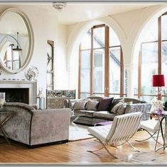 Living Room Wall Mirrors Decorative | Decorative Mirrors ...