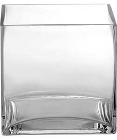 Buy Glass Clear Cube Vase at Argos.co.uk, visit Argos.co.uk to shop online for Vases