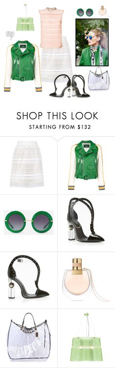 """I can see clearly now"" by juliabachmann ❤ liked on Polyvore featuring Burberry, Dsquared2, Dolce&Gabbana, Balmain, Chanel, Chloé, Faith Connexion and Miu Miu"
