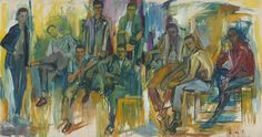 Recurring Waves of Arrival: Elaine de Kooning's Portraits, from Loft Dwellers to JFK