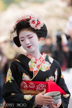 Plum Blossom Festival . Kyoto Japan