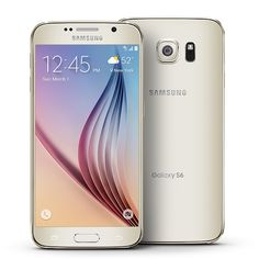 T-Mobile Samsung Galaxy S6 in Gold, 32GB.
