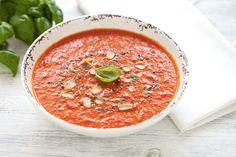 Zuppa al pomodoro e curcuma