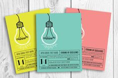Let your light shine with these fun YW invitations. Coordinating programs are available! Something special in mind? For an original design please
