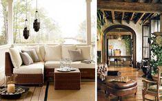 Estilo Colonial Estilo Colonial, Couch, Interior Design, Furniture, Home Decor, Cozy, Hotels, Home Decoration, House Decorations