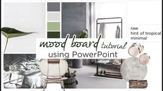 How to: Create an Interior Design Mood Board Using Powerpoint | Tutorial...