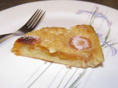 Slice of Apricot Clafoutis
