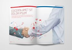 HSA Annual Report 2014 Pitch on Behance