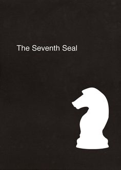 """The Seventh Seal"" Minimalist Movie Poster"