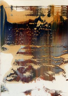 Gerhard Richter: Untitled (10.11.1995) 1995  41.8 cm x 29.7 cm  Oil on paper