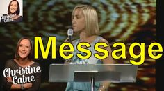 Christine Caine Undaunted Sermons 2016 - Celebration Church Message From Christine Caine Part 1