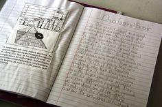 Grammar-   A composition notebook