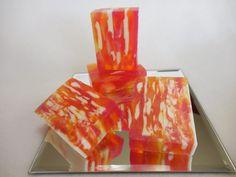 Satsuma Soap - Citrus Orange - Homemade Moisturizing Soap - Decorative Shea Butter Soap - Glycerin Gift Soap - Handmade Unisex Soap