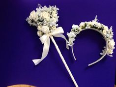 Ivory coloured foam rose and pearl by Bridezillaweddings on Etsy, £12.00 each