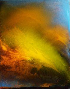 "Saatchi Online Artist: Maurice Sapiro; Oil, 2011, Painting ""Clouds At Sunset"""