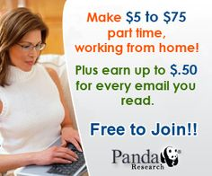 Make Money From Home With Panda Research! Great Way To Make Extra Cash - new socialnetwork site paid all post,likes,cmnt,share etc..per1ADZ=$0.02https://goo.gl/Ij6V5g
