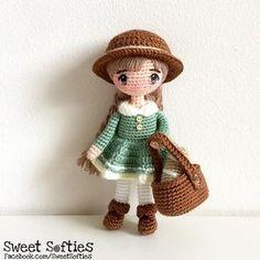 Mori girl doll! #mori #morigirl #morifashion #moristyle #woodland #cottage #folk #amigurumi #amigurumidoll #crochet #crochetdoll #tejido #ganchillo #yarn #fiberart #artdoll #kawaii #cute #adorable #plush #plushie #crochettoy #amigurumitoy #anime #japanese #morikei #forest #forestfashion #howlsmovingcastle #animedoll