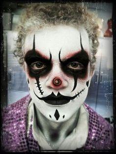 Creepy Clown Makeup, Scary Clown Costume, Scary Clowns, Evil Clowns, Halloween  Clown