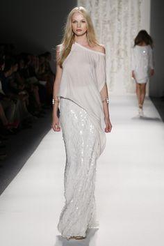 Rachel Zoe Spring 2013 - Runway, Fashion Week // love this look Look Fashion, High Fashion, Fashion Show, Fashion Models, Fashion Outfits, Fashion Beauty, Fashion Design, Couture Fashion, Runway Fashion