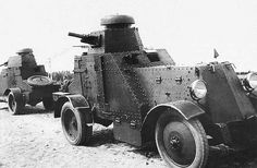 The BA-27 was a Soviet first series-produced armored car, manufactured from 1928 to 1931, and used for scouting and infantry support duties early in the Second World War. The BA-27 was a heavy armored car, having the same turret and armament (37mm gun) as the first Soviet tank, T-18.