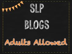Ever feel like SLP blogs are only targeted towards teaching children but you work with adults!  Adults still love games and activities too!  Here's a list of reasons why you should keep reading and getting ideas from SLP blogs, even working with adults! #ideas #activities #adults #SLP #speech #therapy #lessons #SpecialNeeds