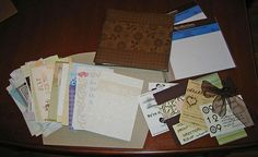 @Stephanie Drenth - wedding cards scrapbook. I'm starting to pin for you. You're welcome. ;D