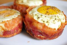 baconeggmuffins Bacon Egg Muffin Cups
