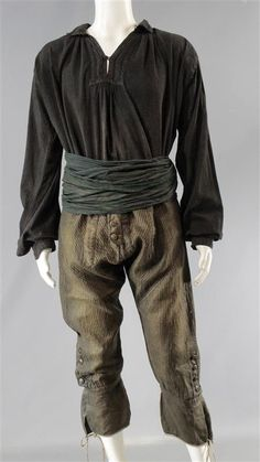 BLACK SAILS CAPTAIN FLINT TOBY STEPHENS SCREEN WORN PIRATE COSTUME SS 3 (2 of 2)