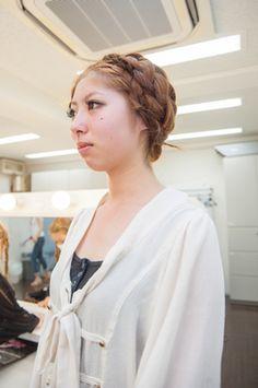 【ヴィーナスアカデミー】浴衣にぴったり!「編み込みヘアアレンジプログラム」