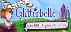 Parragon Books have just launched their brand new Glitterbelle range in January a series of glittery, sparkly, creative books. Princess Star, Little Princess, Book Activities, Activity Books, Enchanted Book, Competition Giveaway, Time Kids, New View, 6 Years