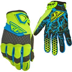 FLY Racing F-16 Limited Edition Motocross MX Dirt Bike Off-Road ATV Quad Gloves