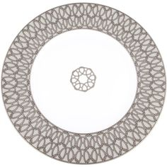 Pre-owned Herm?s Fil d'Argent Dessert Plate (€125) ❤ liked on Polyvore featuring home, kitchen & dining, dinnerware, silver, hermès and hermes dinnerware