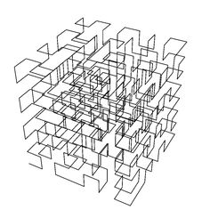 The 3D Peano Curve from the Wolfram Demonstrations Project:  demonstrations.wo...