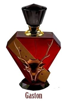 12 Wickedly Beautiful Perfume Bottles Inspired By Iconic Disney Villains  This one is Gaston