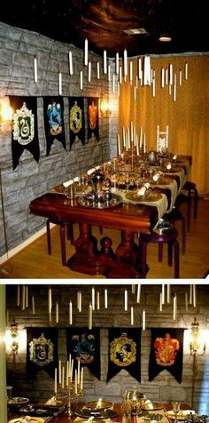 If I ever have a dinning room this is how it will be decorated! <3