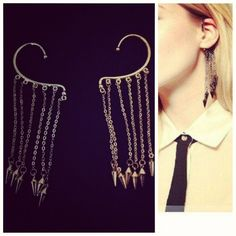 The Embellishment Project | Punk Ear Spike Cuff | Online Store Powered by Storenvy