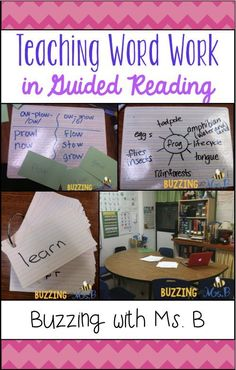 Teaching Word Work in Guided Reading