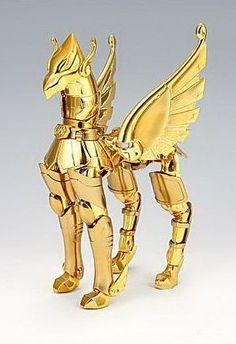 Armadura de Bronce de Pegaso, versión 1, Limited Gold