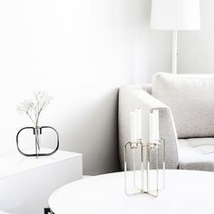 One and Quartet, perfect couple. Perfect Couple, Candelabra, Minimalist Design, Floating Nightstand, Interior Design, Luxury, Instagram Posts, Furniture, Home Decor