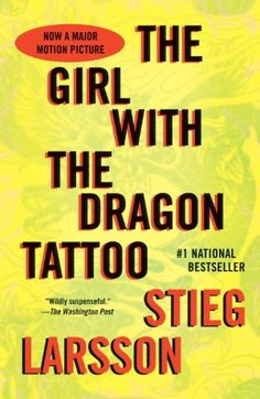 The Girl with the Dragon Tattoo: Book 1 of the Millennium Trilogy (Vintage Crime/Black Lizard) by Stieg Larsson So, I feel guilty saying I enjoyed reading these books. It was an experience. I Love Books, Great Books, Books To Read, Big Books, Amazing Books, Reading Lists, Book Lists, Reading 2016, Up Book