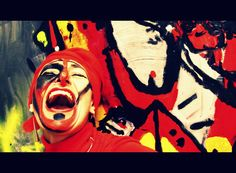 THE MYSTERIOUS CONNECTION BETWEEN WOLVES AND WOMEN - PAINTINGS FROM INDONESIA - Yit Kampak An artisťs response to brutal violence vimeo.com/151621734
