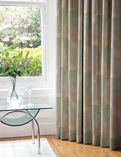 Curtain details for GENOA, AQUA | Next Made To Measure