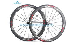 439.00$  Buy now - http://aliezt.worldwells.pw/go.php?t=32712866378 - SOBATO Ultra Lightweight Carbon Fiber Road Bike 700C Wheel Sets Racing Bicycle Wheelsets 38/50mm Height 27.25mm Width Wheels