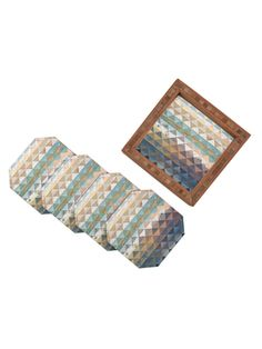 Kei Ibrox Quatrefoil Coasters (Set of 4) from The Modernist's Tribal Home on Gilt