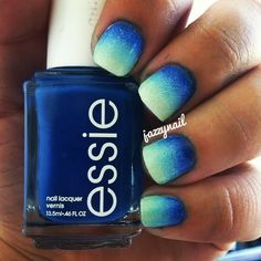 essie ombre nails