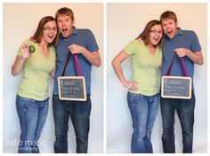 Pregnancy announcement! (one of my favorite photographers! and friends!)